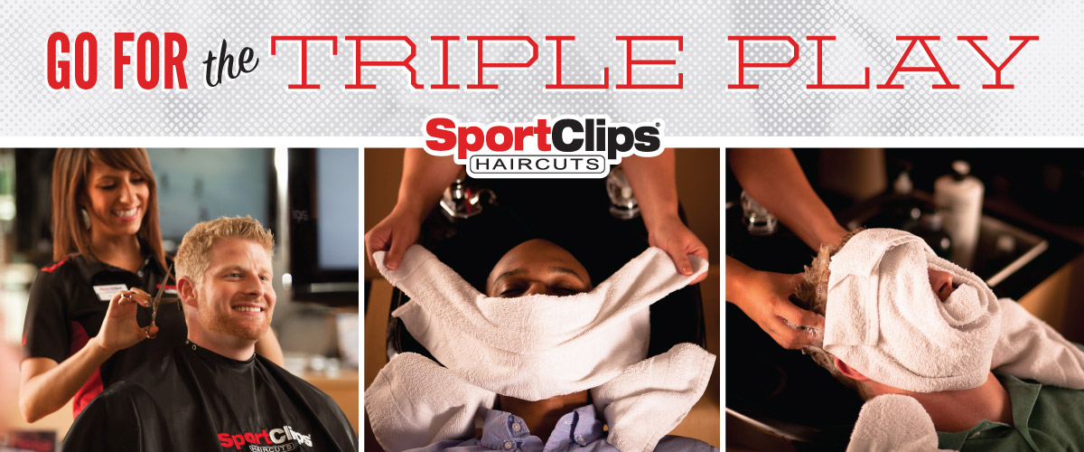 The Sport Clips Haircuts of Topsham Triple Play
